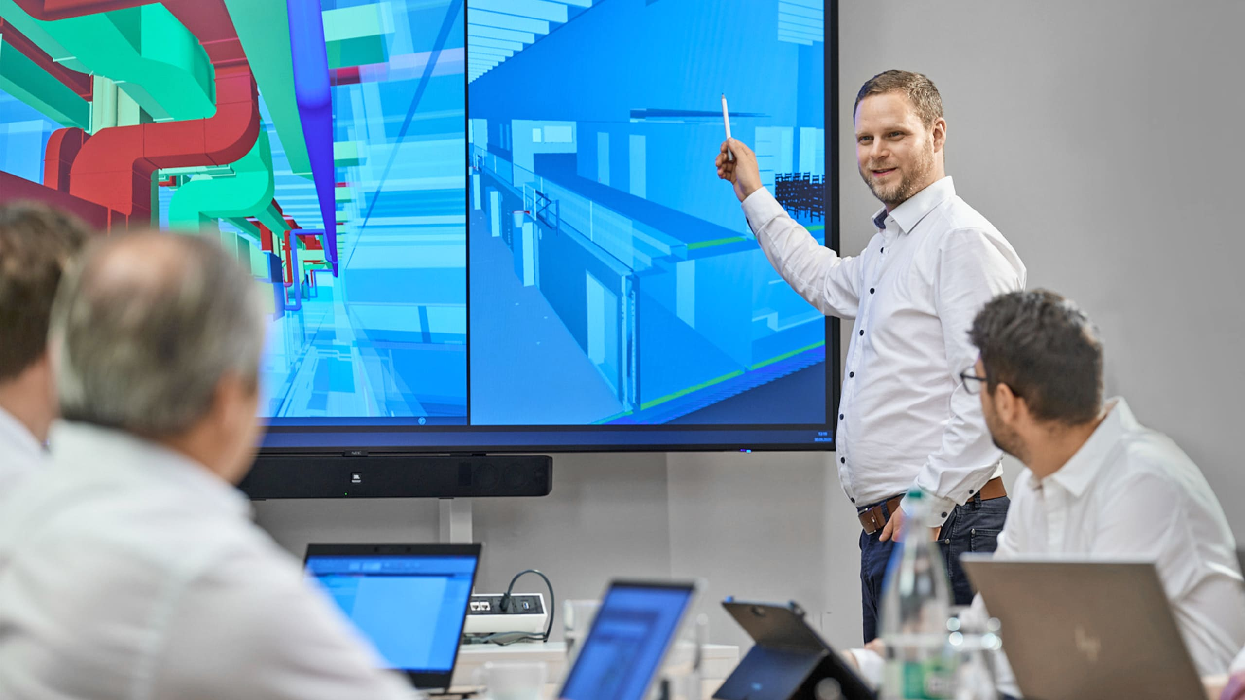 Building Information Modeling bei Gross